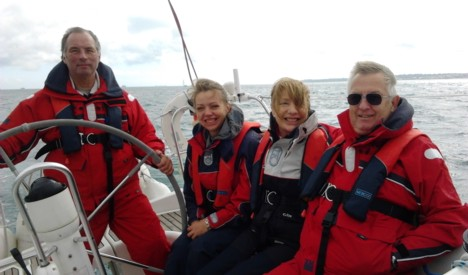 Experience day in the Solent